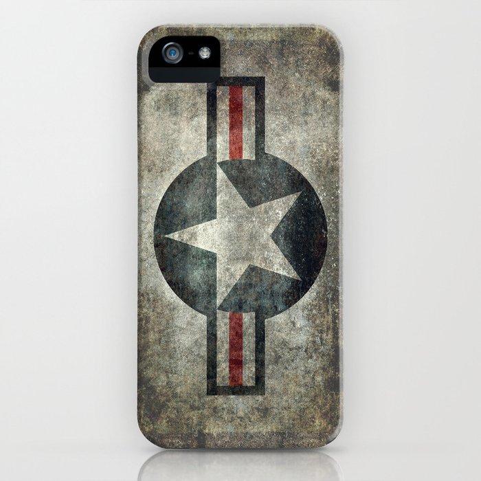 Vintage USAF Roundel iPhone Case