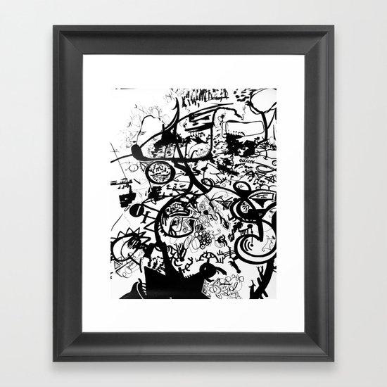 Waliamichael  Framed Art Print