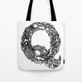 The Illustrated Q Tote Bag