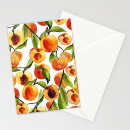Passionate for peaches Stationery Cards
