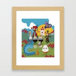 alice in wonderland collection Framed Art Print