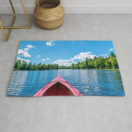 Just Keep Paddling Rug