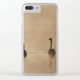 Golden Pond Clear iPhone Case