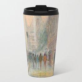 Rainy Day In Oxford England Travel Mug
