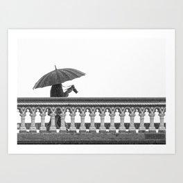 Rain Man London Art Print