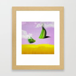 Out of Nowhere Framed Art Print