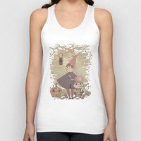 over the garden wall Tank Tops featuring Over the Garden Wall by Hamish Steele