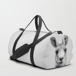 Kangaroo - Black & White Duffle Bag