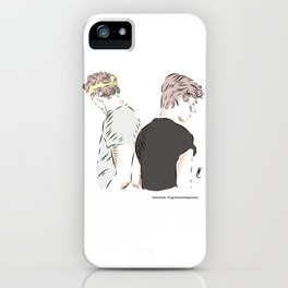 Isak and Even iPhone Case
