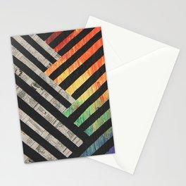 Comic Stripes Stationery Cards