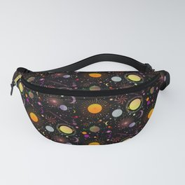 Journey into outer space Fanny Pack