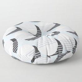Simple Circle Pattern Floor Pillow