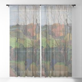 The Willow Tree Sheer Curtain