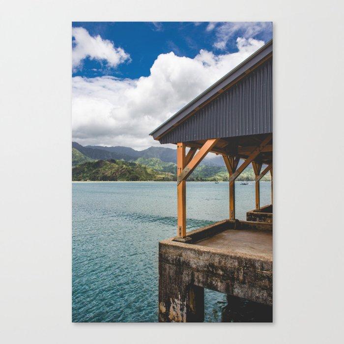 Kauai Bay Canvas Print