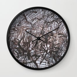 Table Dwellers Wall Clock
