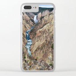 Grand Canyon of the Yellowstone - Yellowstone National Park Clear iPhone Case