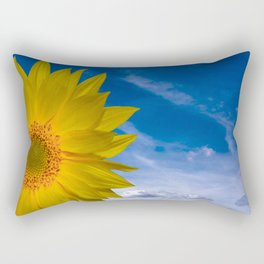 Concept Sunflower Greetingcards Rectangular Pillow