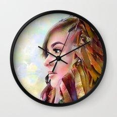 The guradian of the sky Wall Clock