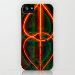 twirled up and down iPhone Case