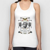 rorschach Tank Tops featuring Rorschach by Dreck Design