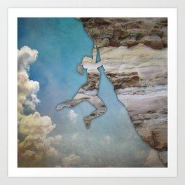 Climb On II Art Print
