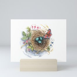 Robin's Nest Mini Art Print