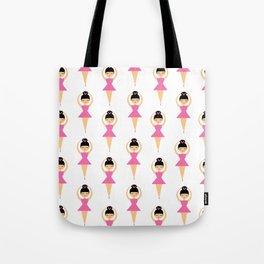 Ballerina Love Tote Bag