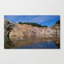 morning quarry beauty Canvas Print