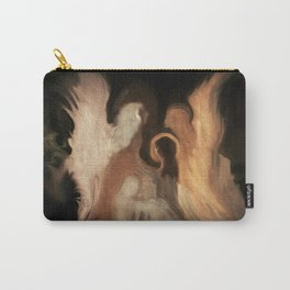 Little Family Of Angels, Abstract, by Sherriofpalmsprings Carry-All Pouch