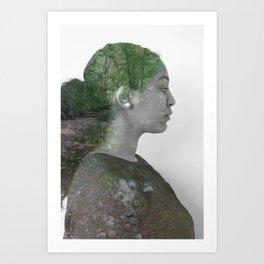 Ilham Art Print