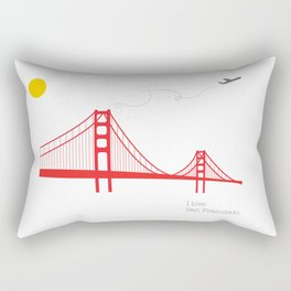 San Francisco. Rectangular Pillow