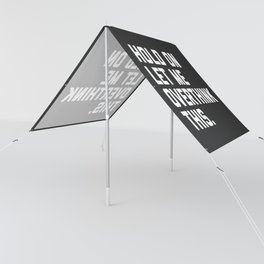 Hold On, Overthink This Funny Quote Sun Shade