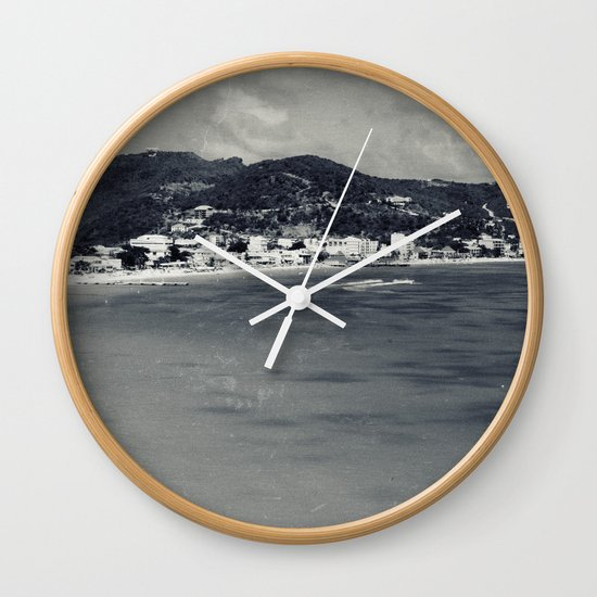 Old-New St. Maarten Wall Clock