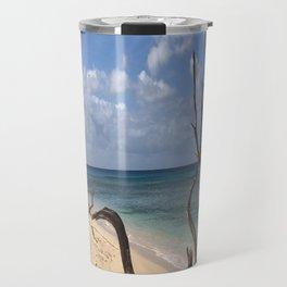 Natural Beach Art Travel Mug