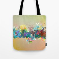colombia Tote Bags featuring Colombia by LinaG
