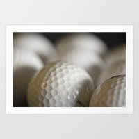golf Art Prints featuring Golf by B.P.