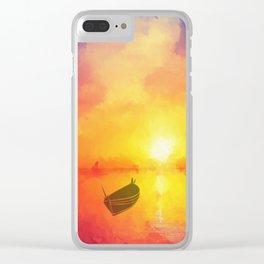 Il était un petit navire Clear iPhone Case