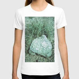 GREEN PICTURE OF A ROCK T-shirt