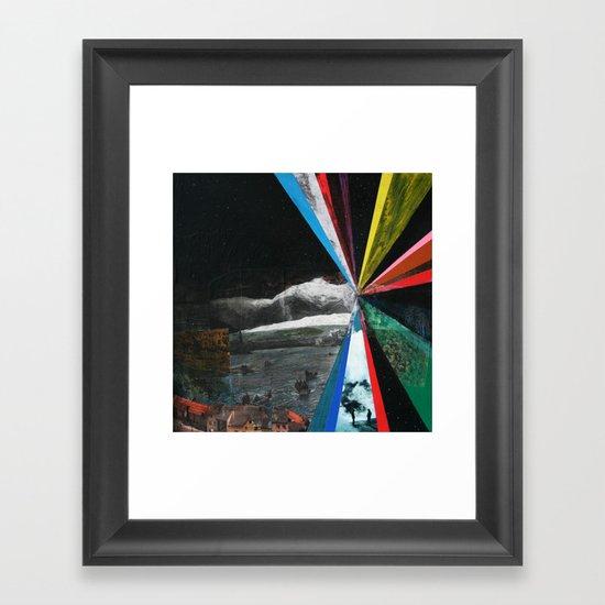 The Explorers Framed Art Print