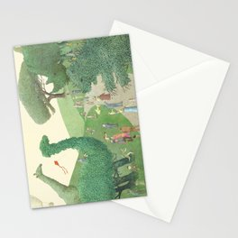 The Night Gardener - Summer Park Stationery Cards