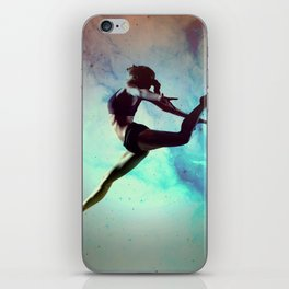 Ballet Dancer Feat Lady Dreams Abstract Art iPhone Skin