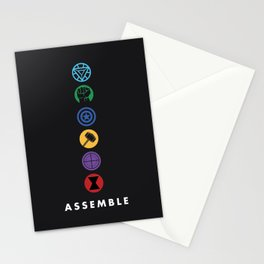 Assemble Stationery Cards