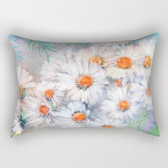 Vintage daisies(4) Rectangular Pillow