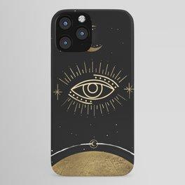 La Luna Evil Eye iPhone Case