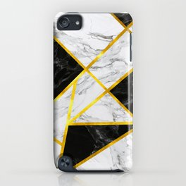 Abstract Marble-Invert iPhone Case