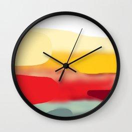 Far Wall Clock