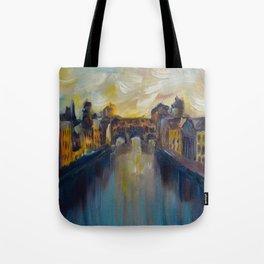 Ponte Vecchio Tote Bag