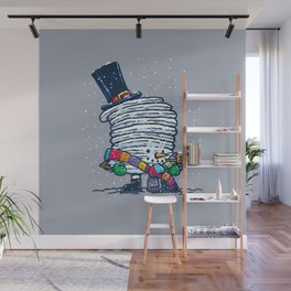 Captain Snowcake Wall Mural