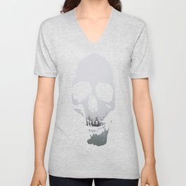 Moored in the Mist Unisex V-Neck