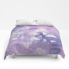 future fantasy snow cover Comforters